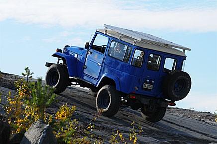 Rustad för äventyr: Toyota Land Cruiser!