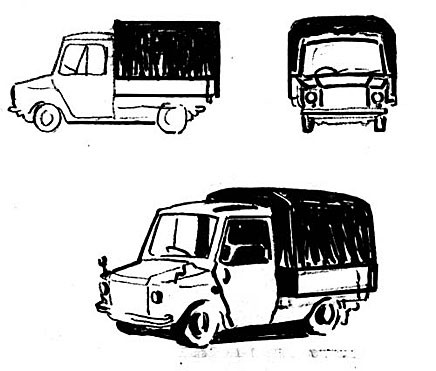 Eller som en liten lastbil...