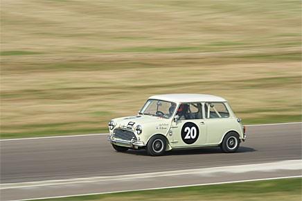 Vinnaren av St Mary´s Trophy. Morris Mini Cooper S -65