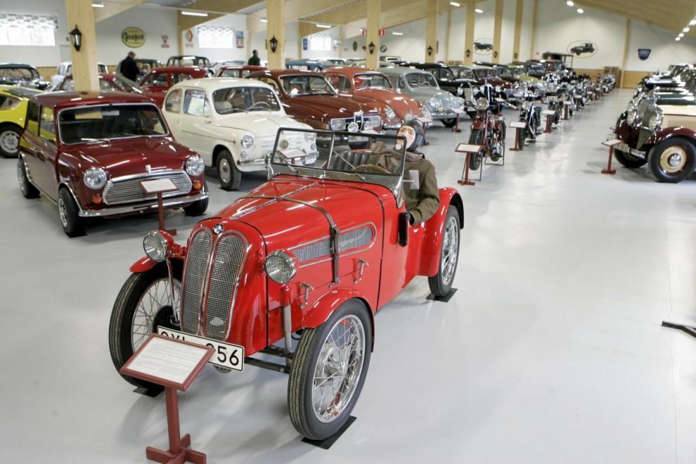 BMW Dixi Sport 1928. En licensbyggd Austin Seven.