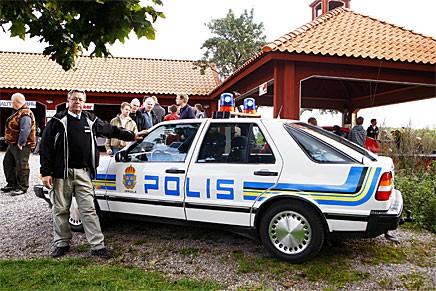 Träffpunkt 80 gick städat till men polisen var ändå på plats!