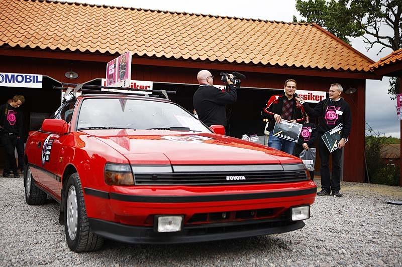 Chans att vinna en Toyota Celica i riktigt fint originalskick - var annars än på Träffpunkt 80?