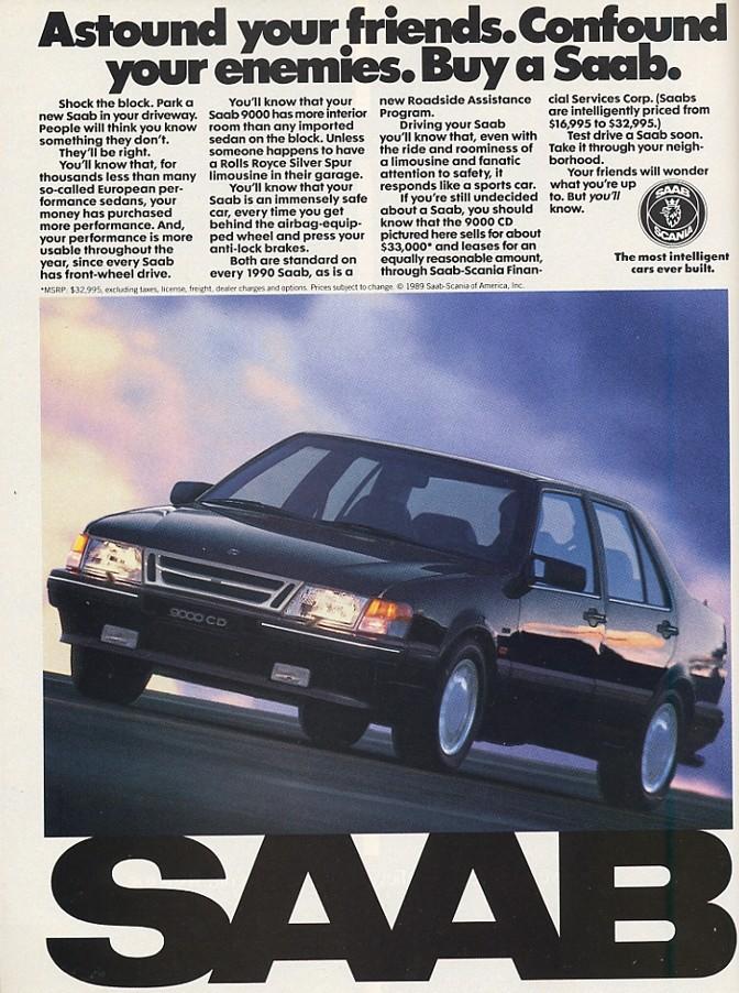 Bildspel: Saab Nine Thousand