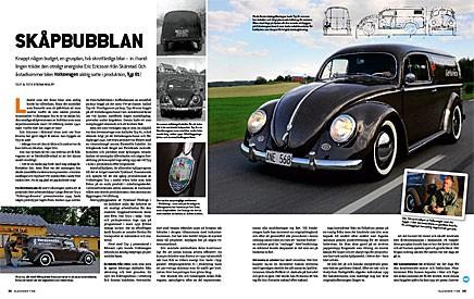 Eric Ericsson byggde Volkswagenmodellen som han tyckte saknades.