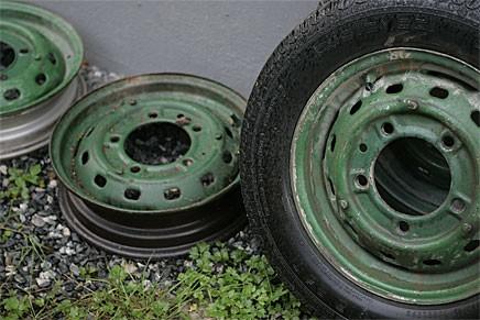 Gröna hjul blev snart röda.