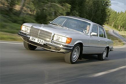 Välhållna Mercedes S-klass från 1970-talet har varit sällsynta länge. Nu börjar de bli eftertraktade också.