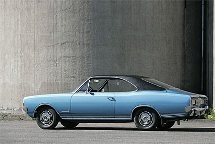 Flyt i linjespelet. Opel hade koll full koll i slutet av 1960-talet.