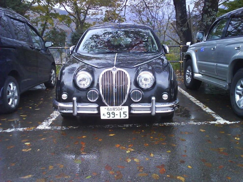 Nej, ingen Jaguar Mk II ...
