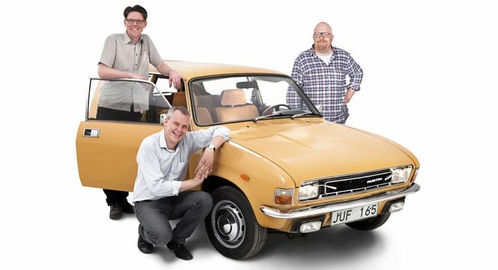 Klassiker köpte en Austin Allegro 1300 Estate 1978 för att ha något fint Träffpunkt 70 2011.