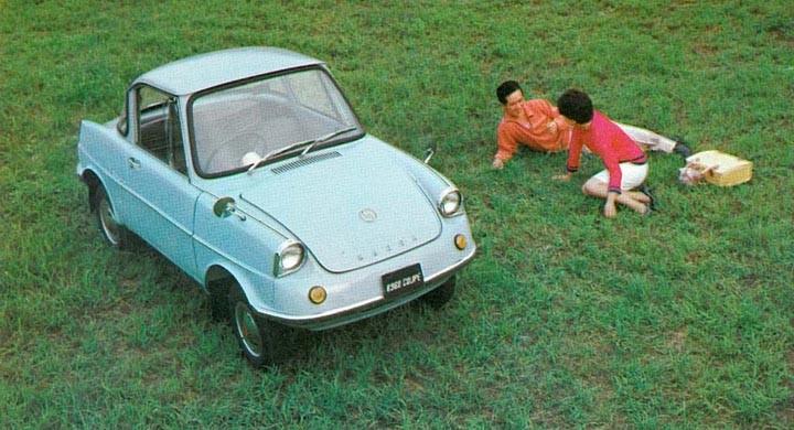 """Mazda första """"bil"""" R360 byggdes från 1960"""