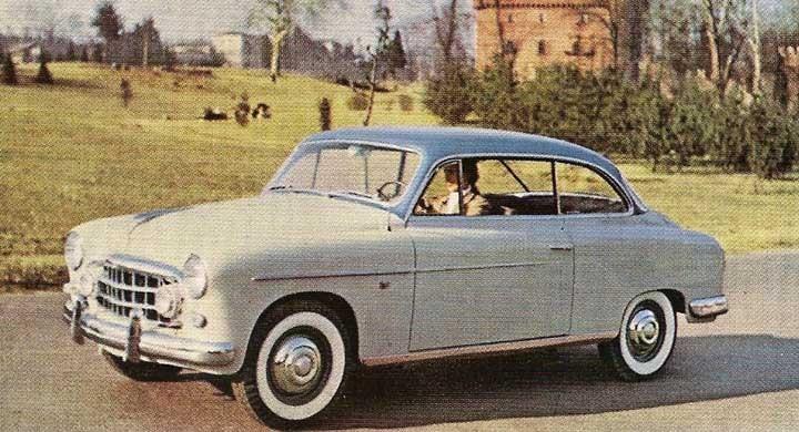 Fiat gjorde en egen elegant coupé på 1900 som hette Gran Luce