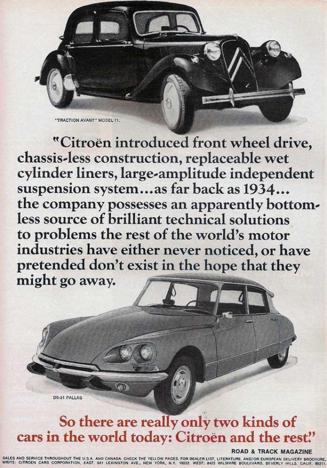 Citroen USA 1969