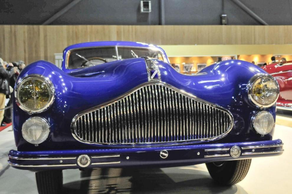 Peter Mullin är ägare till museet som är vigt åt perioden Art Deco. Denna Talbot Lago T 26 från 1948 tillhör samlingarna.