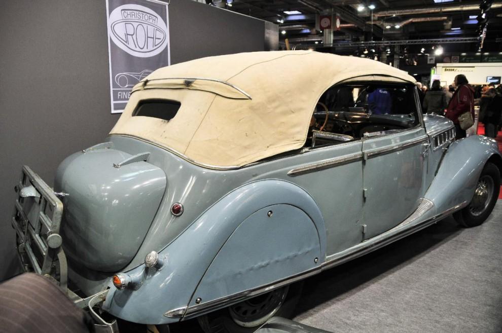 Den sades vara den enda överlevande av 22 byggda. Motorn är en rak åtta på 5,5 liter och 115 hk vilket gav den 2,5 ton tunga bilen en toppfart på 145 km/h.