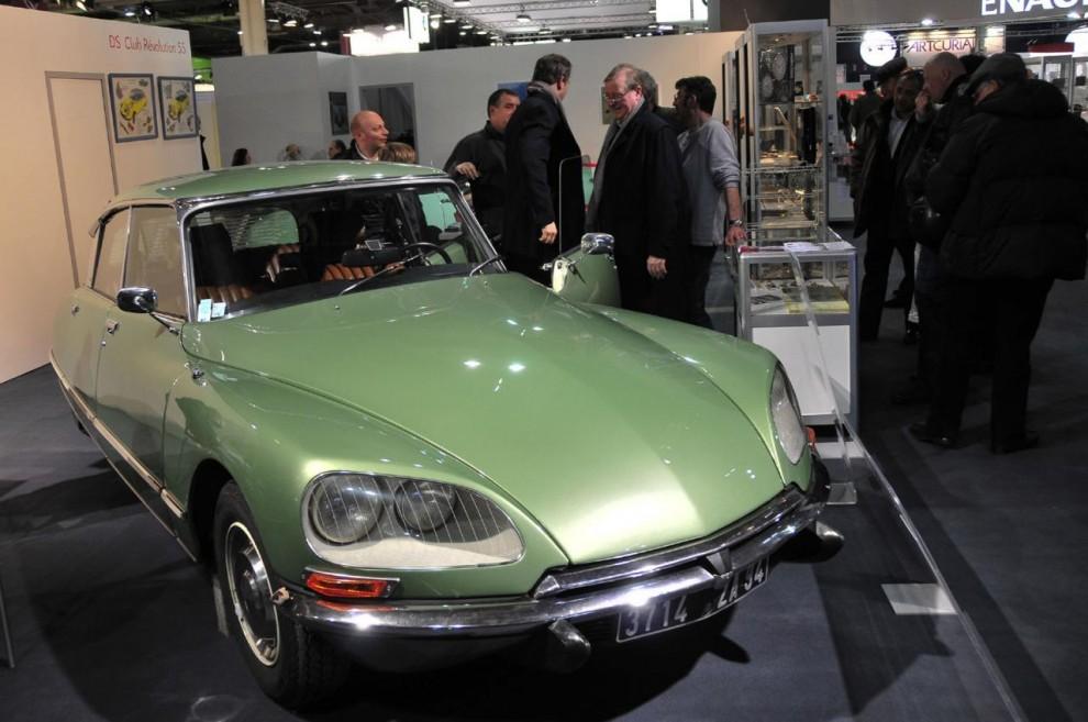 Monterhyrorna är höga och det verkade i år som det var mest modellklubbar med fabriksstöd som kunde ställa ut. Klubben för Citroëns D-modeller hade bara en bil på plats.