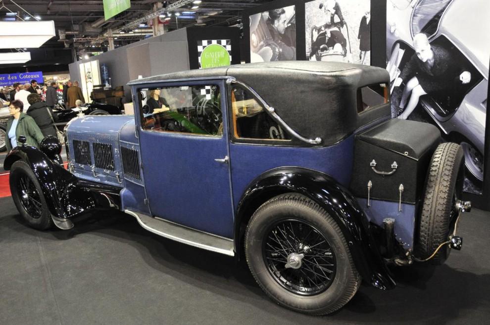 Denna Bentley Speed Six från 1929 har originalkarossen kvar. Den sägs ha levt ett lugnt liv. Det beror nog på att den sexcylindriga motorn inte var så lämpad för racing.