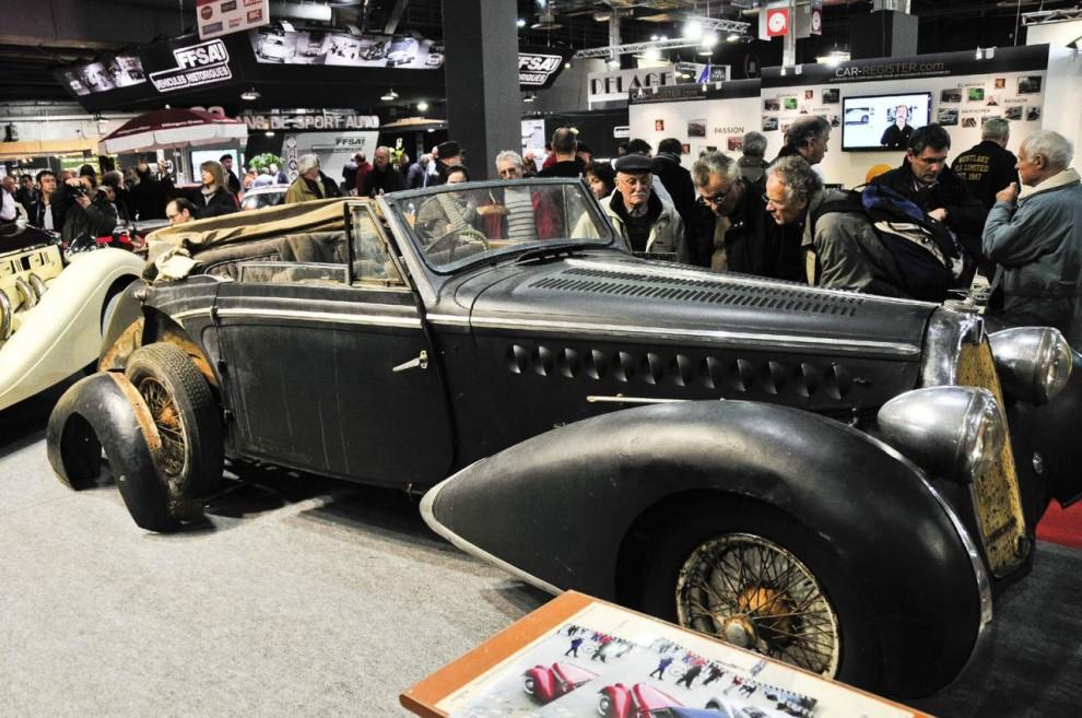 Fortfarande dyker det upp renoveringsobjekt av de stora klassikerna - här en Talbot-Lago.