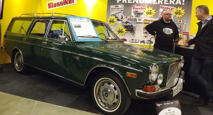 Mässans i särklass mest uppmärksammade Volvo stod ju givetvis i Klassikers monter, Fredriks unika 165:a premiärvisas