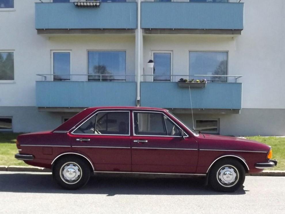 Audi 80GLS från 1977, mycket fint skick på en ovanlig modell