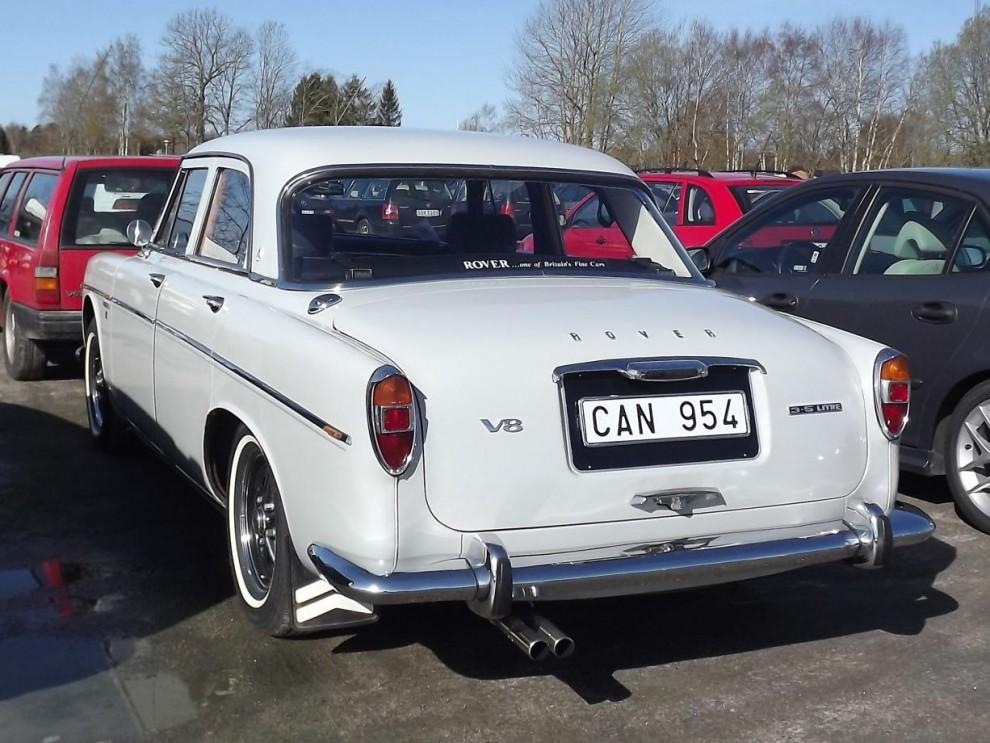 Rover 3,5litre i P5-serien 1963, en Rover vi inte ser så ofta hos oss.