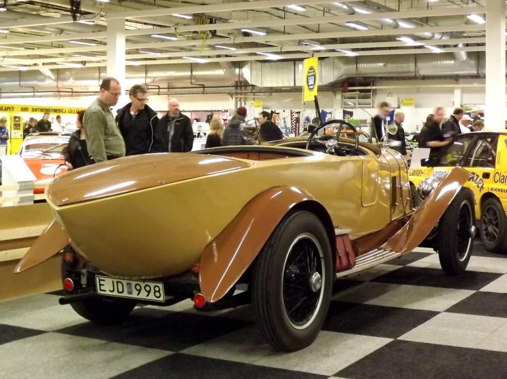 Mer franskt, en Voisin C5 från 1924 med karosseri från Belvalette