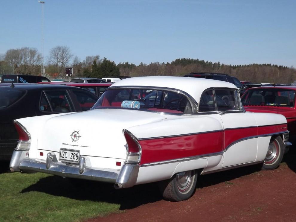 Ovanlig men vacker amerikanare, Packard Clipper från 1956
