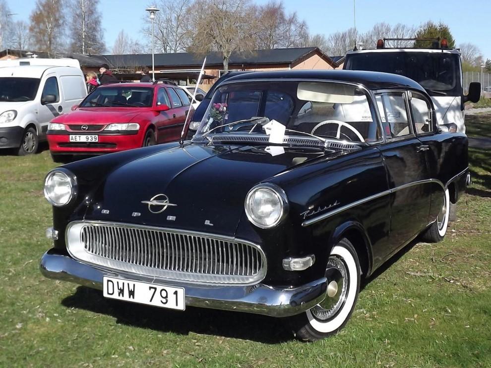Välputsad Opel rekord 1958