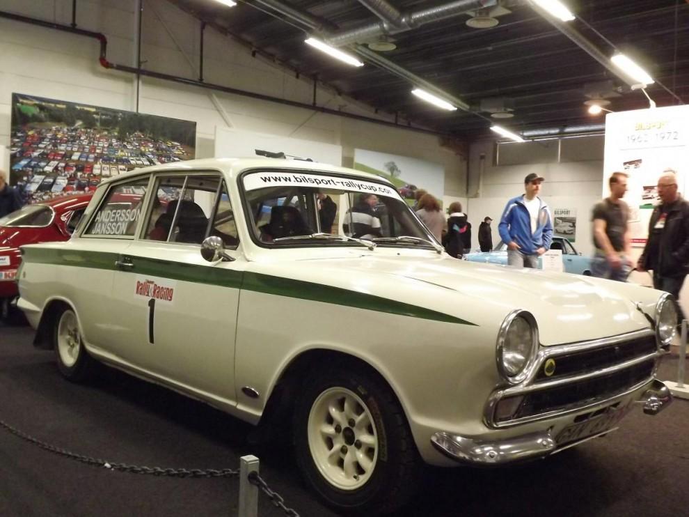 Lotus-Cortina hos Bilsport