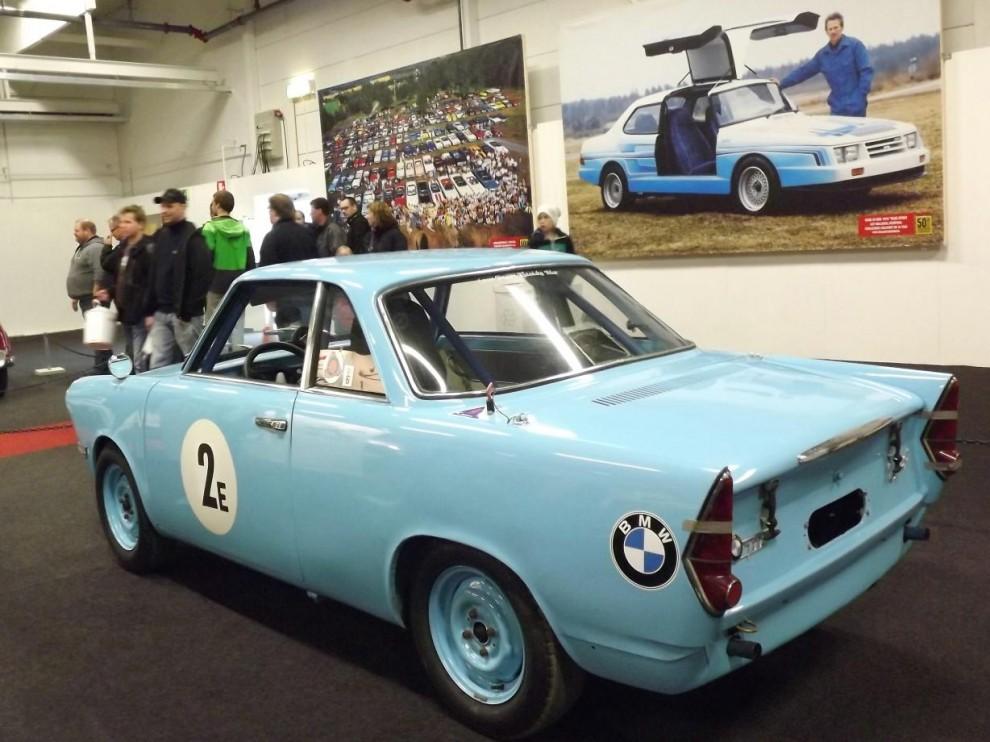 BMW 700 coupé är en ovanlig fågel men kördes ganska framgångsrikt i de mindre racingklasserna på 1960-talet.