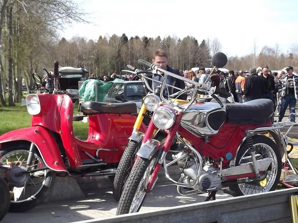Mopeder fanns det gott om att fynda