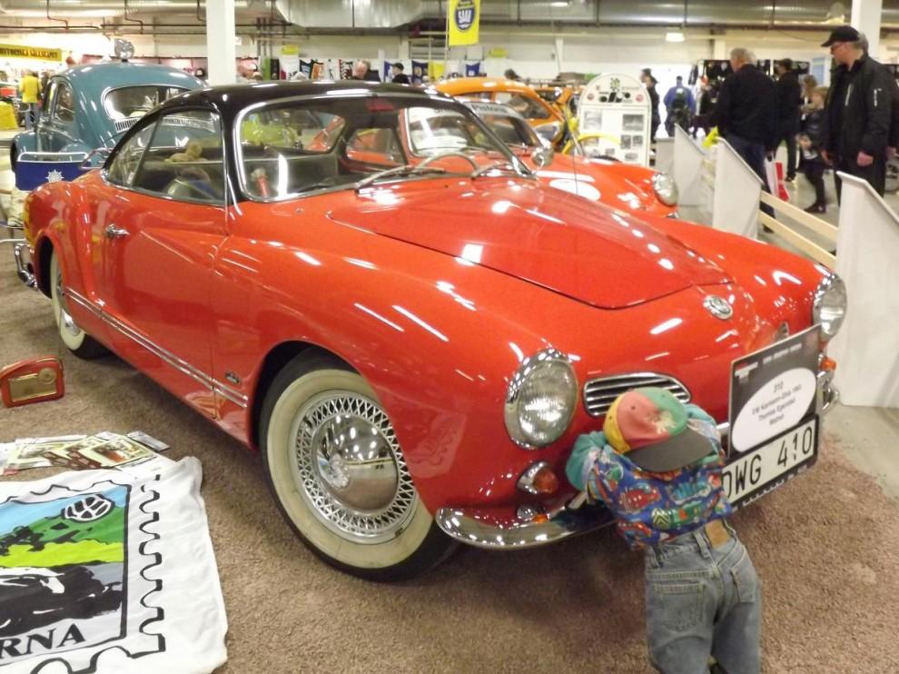 och fin Karmann Ghia. 1963.