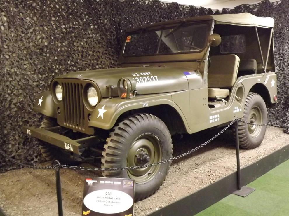 Willys M38A1 hette den militära varianten av CJ-3, denna från 1963
