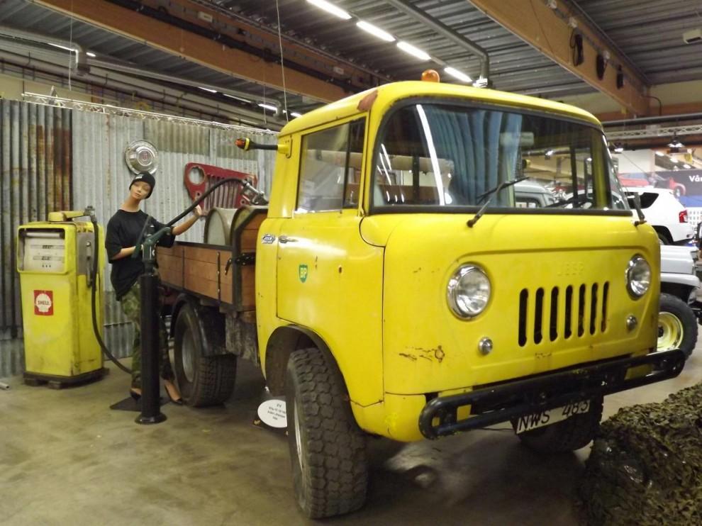 En annan Willys man inte ser många av idag, FC-150 1962 års modell
