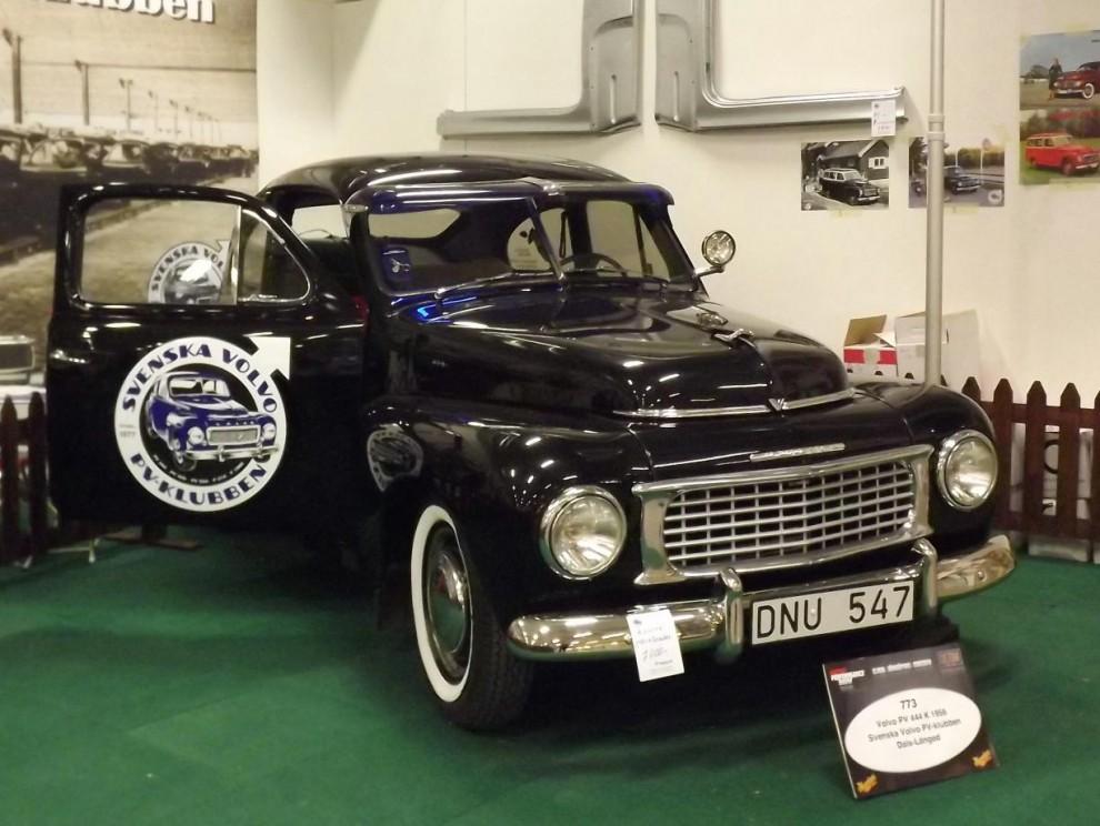 Volvo PV-klubben visade upp sig med bland annat denna fina 56:a