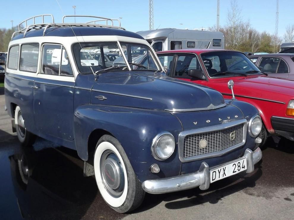 Den svenska laståsnan Volvo Duett