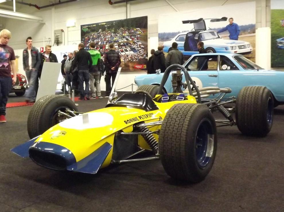 och Ronnie Petersons Techno F3 1968