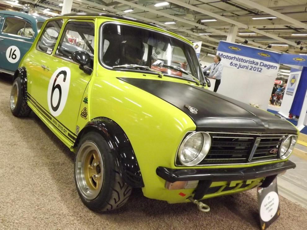 Mini 1275 Clubman GT i racerkostym
