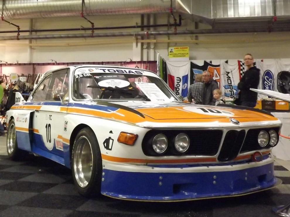 saloonracer på 70-talsvis, BMW CSL  1972.