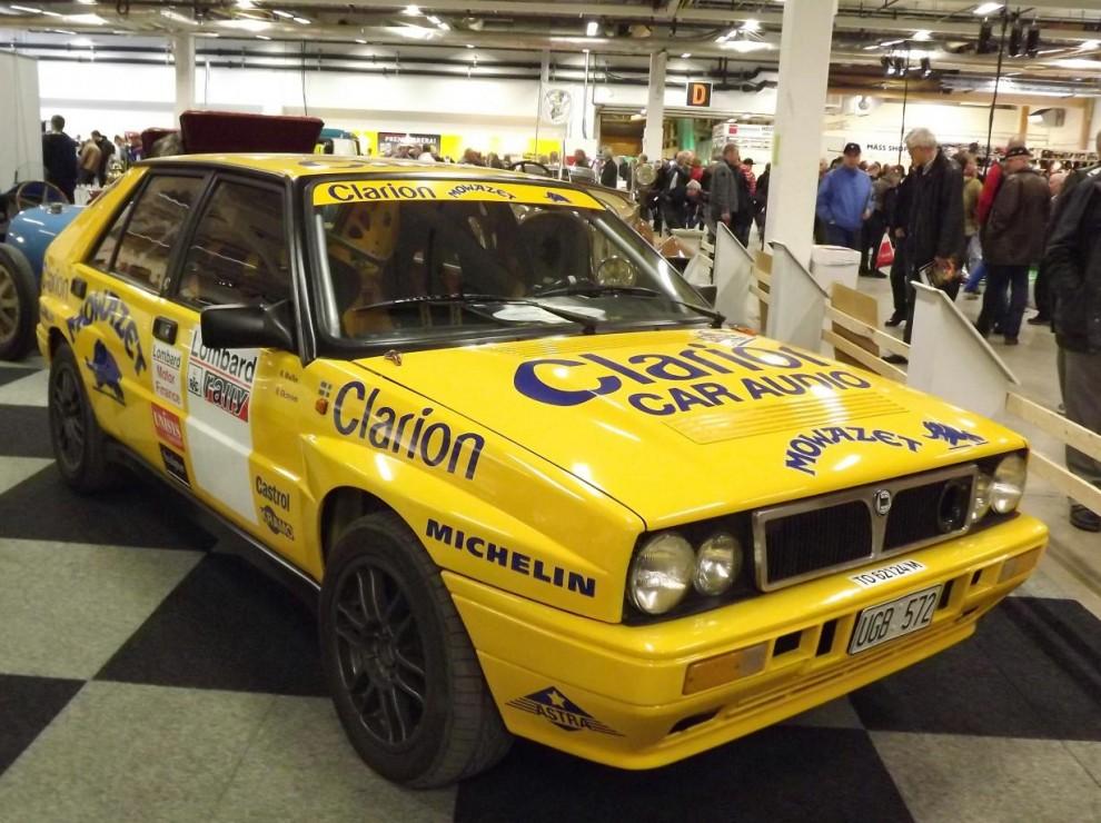 Rallylegend, Lancia Delta Integrale Grupp A-bil från 1990