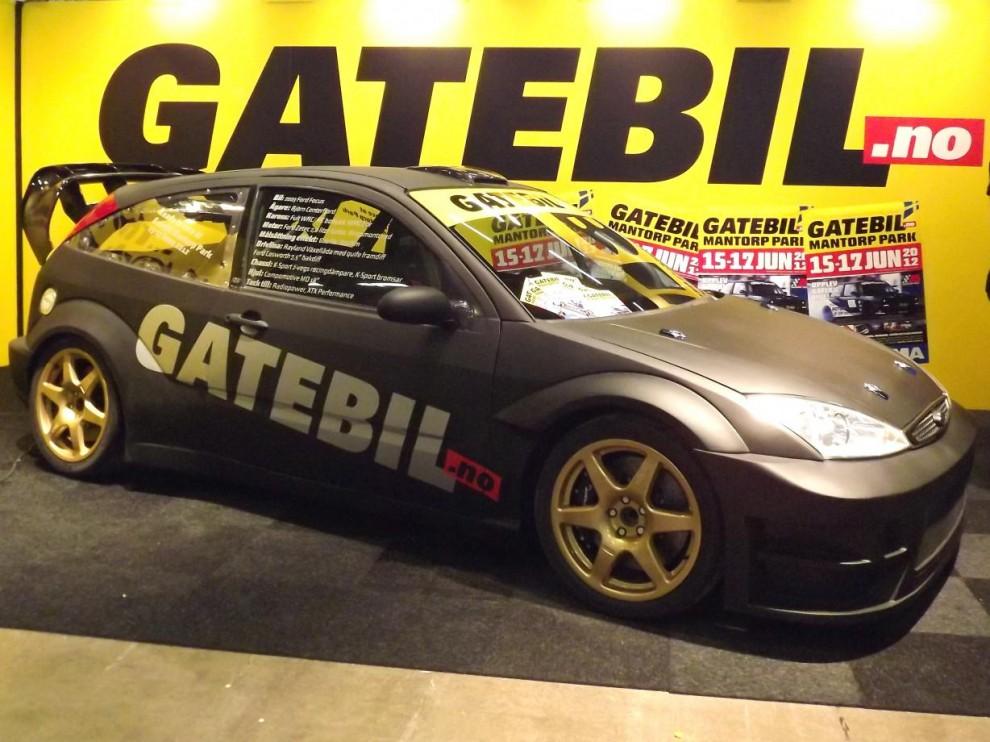 konceptet Gatebil var vuxit sig enormt, ett stort evenemang med racing, drifting, dragrace och allmänhetens åkning blandat, både show och go.