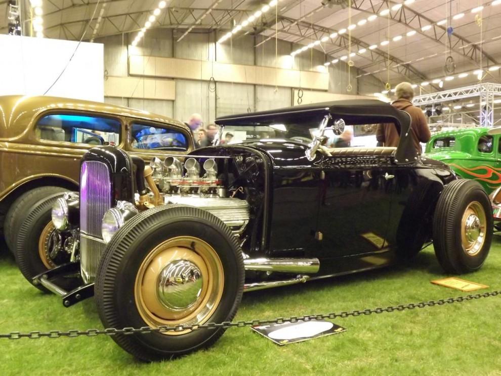 1932 roadster i klassisk stil