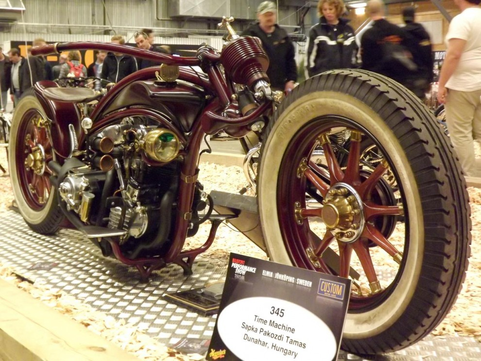 Inte bara sverige skickla hantverkare har, mässans mest spännande motorcykel kom från Ungern