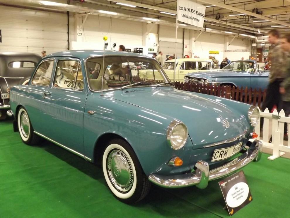 Tillbaks till originalavdelningen , prydlig typ 3 notchback från 1962
