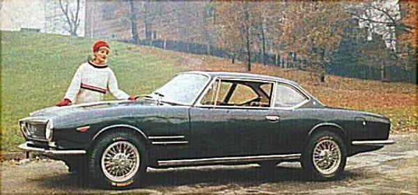 Moretti 2300SS coupé ritad av Bertone