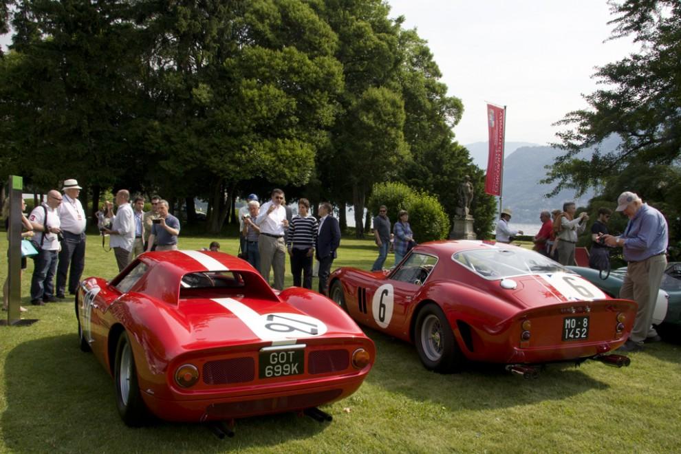 Man fick gå hur nära som helst. Att ägarna av +100-miljonerkronorsbilarna Ferrari 250 LM och 250 GTO vågade!