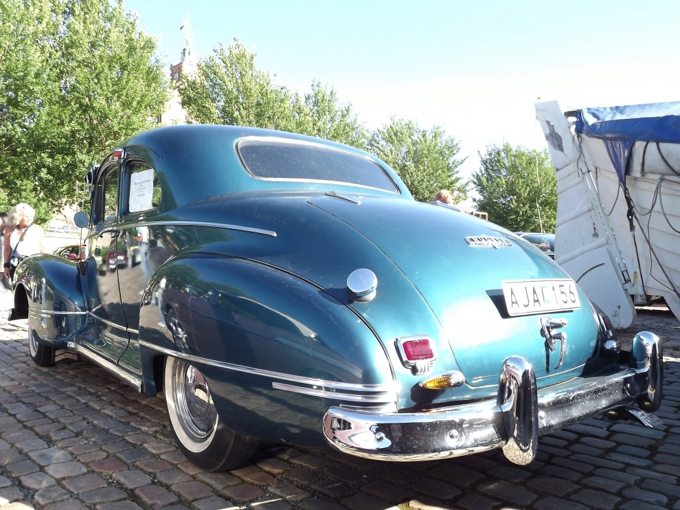 Hudson coupe från 1946.