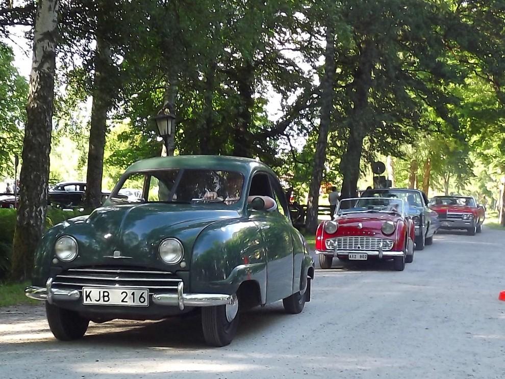 Tidig SAAB 92 från 1951, alltså innan dom fick baklucka
