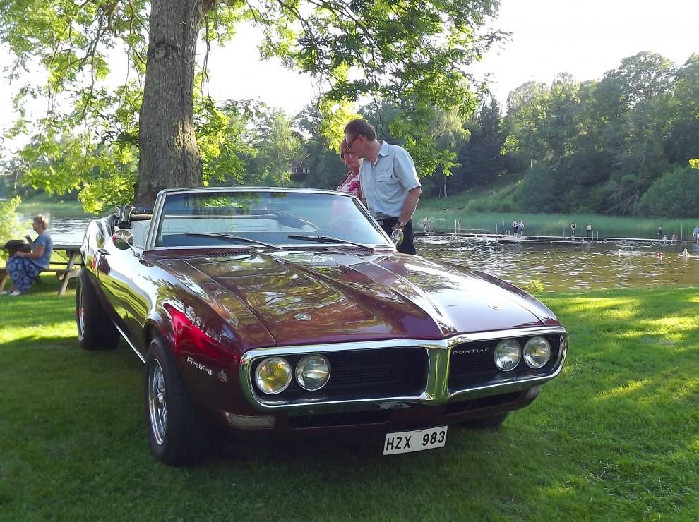 Pontiac Firebird 1968.