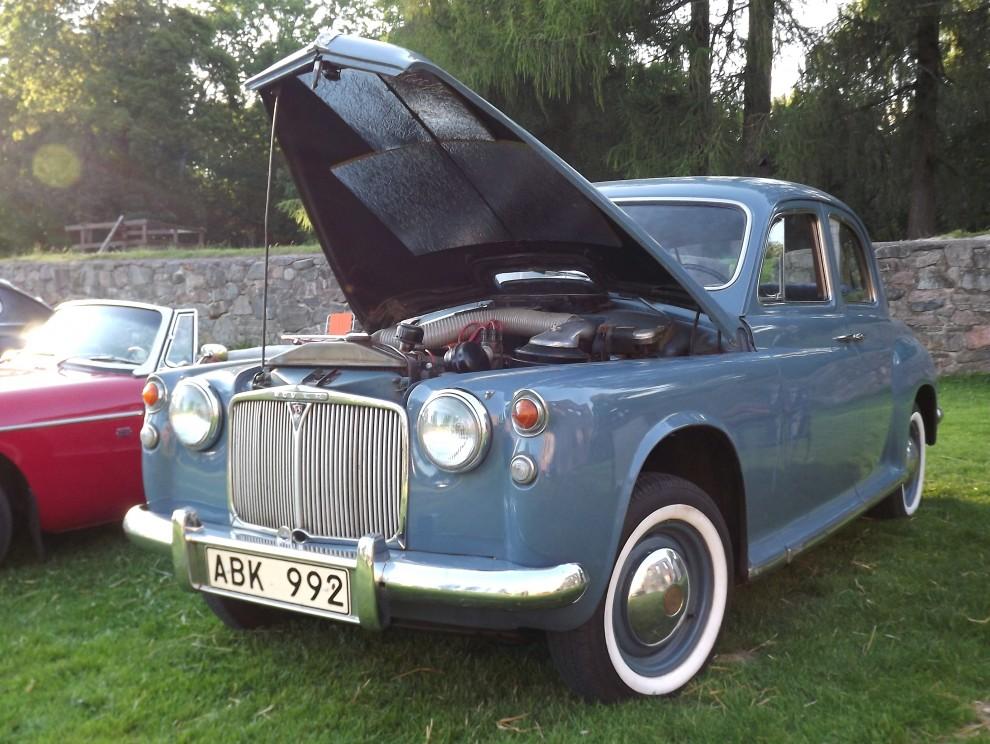 Rover P4/75 var ännu en prominent engelsman som besökte Gräfsnäs denna tordsdag