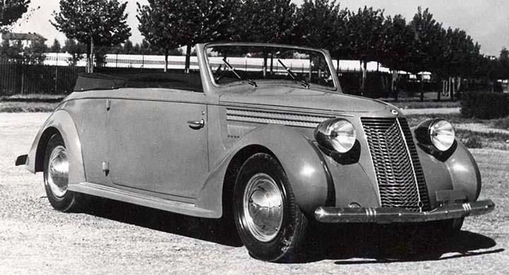 cabriolet Pininfarina 1938